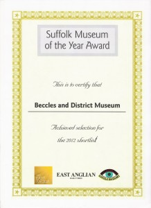 Museum of year 2012