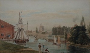 Watercolour The Port of Beccles