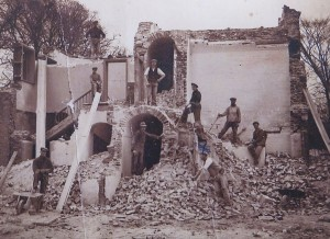 Demolition of Beccles prison