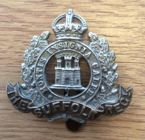 Suffolk Regiment Cap Badge