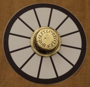 Brass Wheel Hub