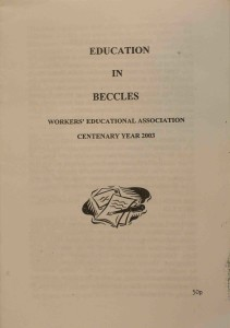 Book - Education in Beccles